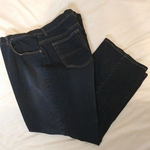 St John's Bay plus size blue jeans